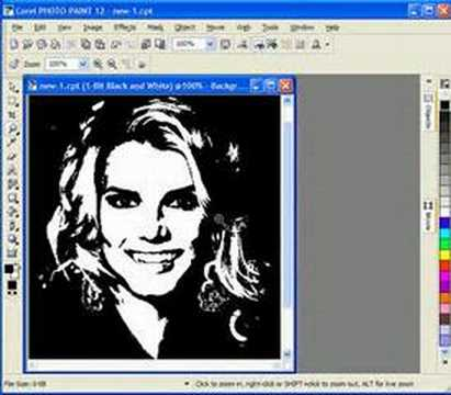 Creating Scroll Saw patterns with Corel Draw (Portraits)