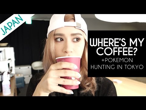 WHERE'S MY COFFEE | Pokemon Hunting in Japan at Tokyo Sky Tree & Ikebukuro