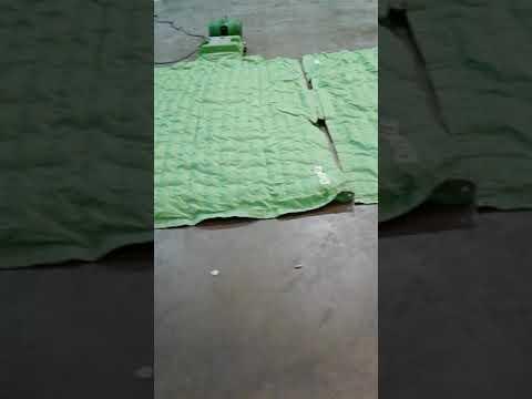 Floor drying equipment set up, water damage in Westville NJ, SERVPRO,