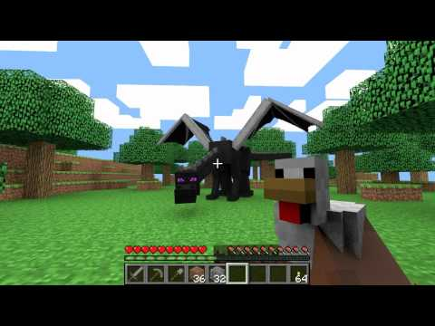 The EnderDragon (Minecraft Animation)