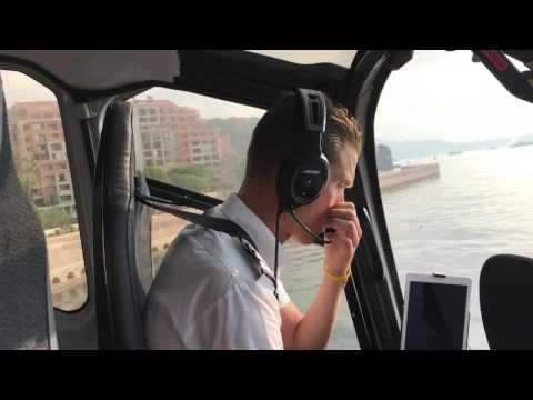 Russell Berney: Helicopter From Monaco to Nice airport