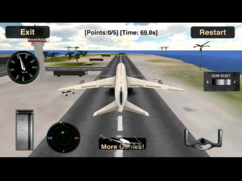 Flight Simulator: Fly Plane 3D Android Gameplay (HD)