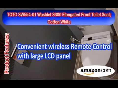 Washlet S300 Elongated Front Toilet Seat | Toilet Seat Reviews