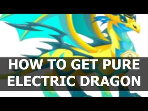 How to Breed PURE ELECTRIC DRAGON in Dragon City on Facebook