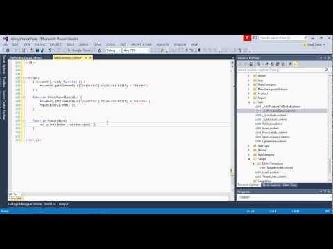 ASP.NET MVC JavaScript ile HTML Sayfası Yazdırmak