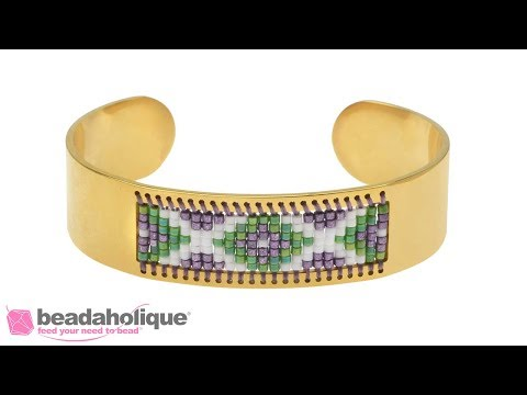 How to Add Beads to a Centerline Cuff