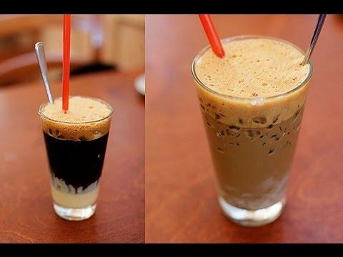 How to make Vietnamese coffee - Ca phe sua da