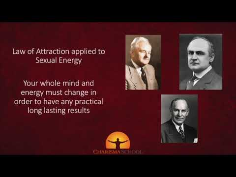 Why Sexual Energy Naturally Attracts Others? - Charisma School