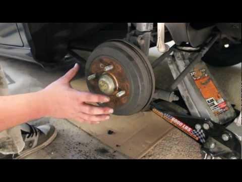 How to Replace Rear Brakes Hyundai