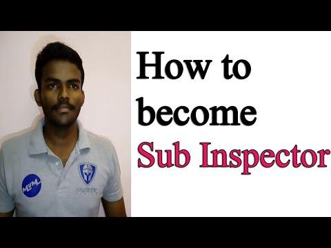 How to become Sub Inspector | இன்ஸ்பெக்டர் ஆவதற்கு தகுதி | ICU Tamilnadu