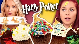 GIANT Harry Potter Sorting Hat Cupcakes! – What is Erin's Hogwarts House?! (What the Flavor)