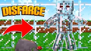 Minecraft: DISFARCE DE VIDRO - (Esconde-Esconde)
