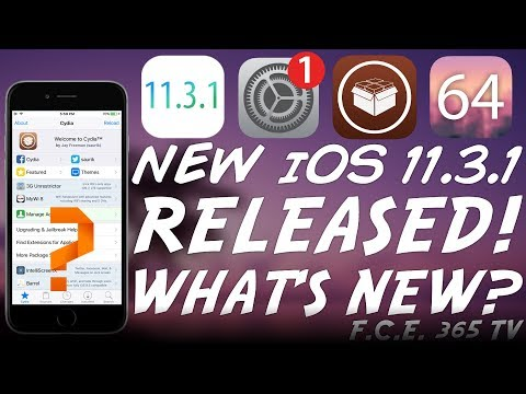 iOS 11.3.1 RELEASED! Should You Update If You Wanna JAILBREAK?