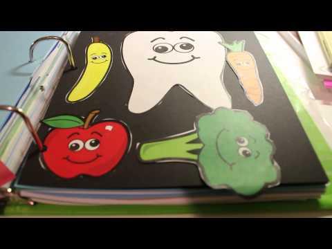 Kindergarten Portfolio for County Homeschool Review