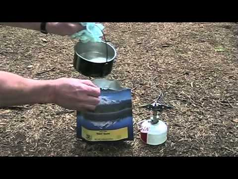Only The Lightest, Ch 54: Ultralight Backpacking, How to Cook Freeze Dried Food