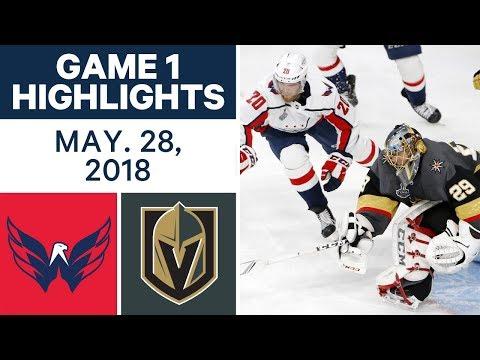 NHL Highlights   Capitals vs. Golden Knights, Game 1 - May 28, 2018
