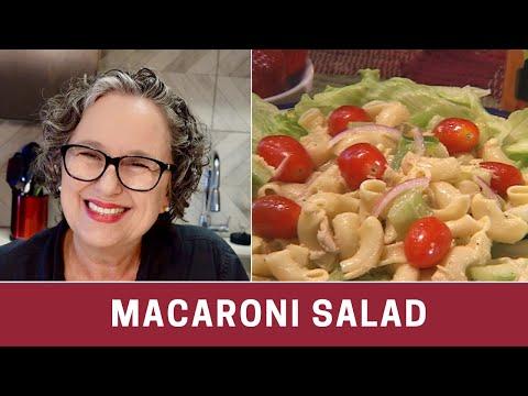 How to Make Macaroni Salad - Easy Macaroni Salad -- The Frugal Chef