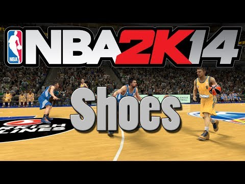 NBA 2K14 Mods: How to Add Different Types of Shoes! (PC)