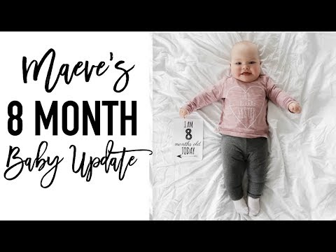 8 Month Old Baby Update | SHE'S ON THE MOVE