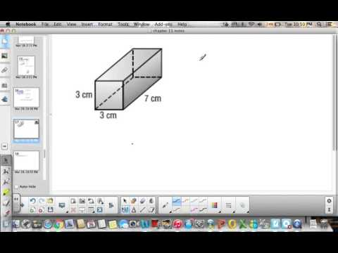 6th Grade Lesson 12 4 Surface Area of Rectangular Prisms