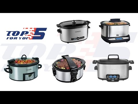 Top 5 Best Slow Cookers For 2017 -  2018
