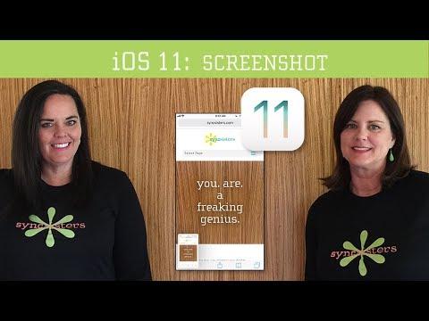 iOS 11 - Screenshot