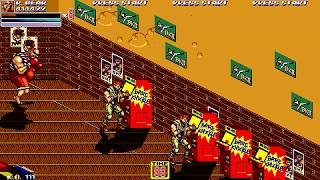 Streets of Rage 2X Megamix (OpenBoR) Tia Langray, 7th stage