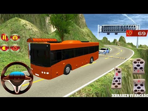 Bus Mountain Drive Simulator 3D | Offroad Bus Driving - Android GamePlay 2018