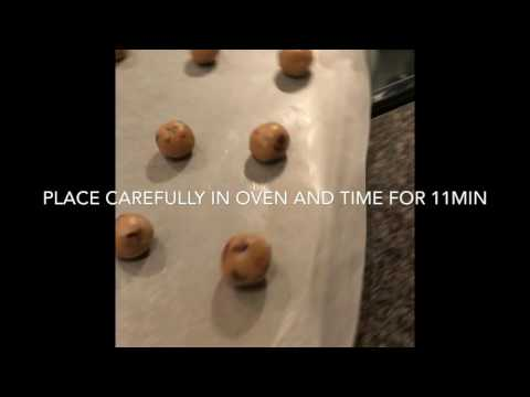 How to make Nestle Chocolate chip cookies