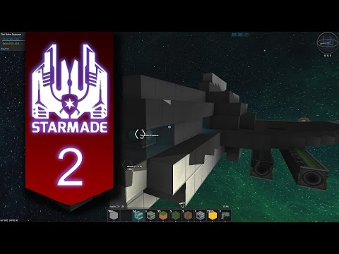 StarMade (Let's Play | Gameplay) Episode 2: TIL, the Sun is really hot