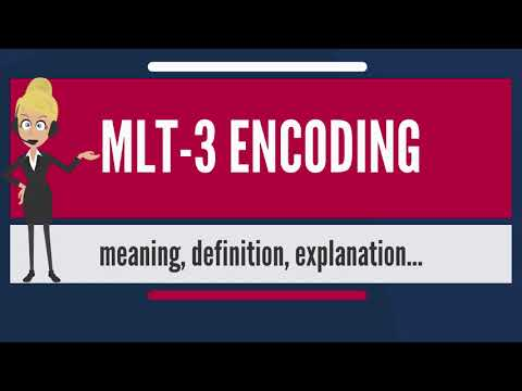 What is MLT-3 ENCODING? What does MLT-3 ENCODING mean? MLT-3 ENCODING meaning & explanation