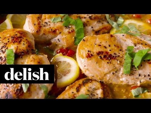 Lemon Butter Chicken | Delish