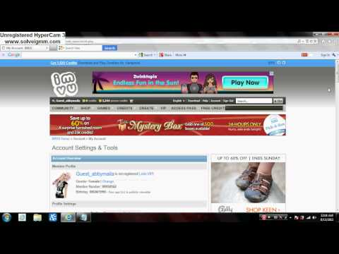 How to get free imvu badges ! (NEW 2012)