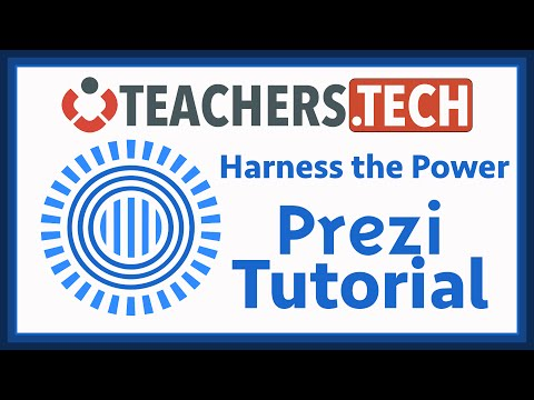 Learn PREZI Classic - NEW! Tutorial
