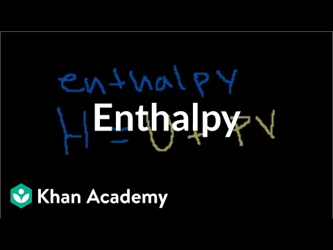 Enthalpy | Thermodynamics | Chemistry | Khan Academy