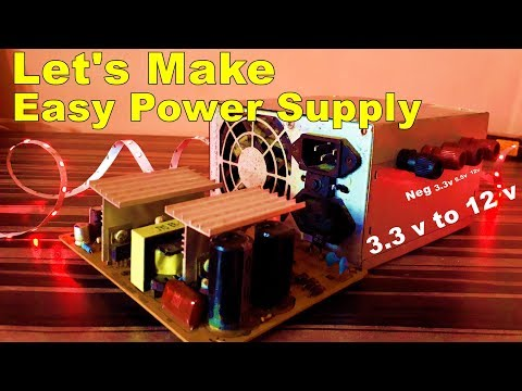 How To Use PC SMPS As Power Supply | Let's Make Power Supply With PC SMPS