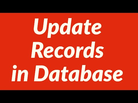 Update Records in Database Automatically