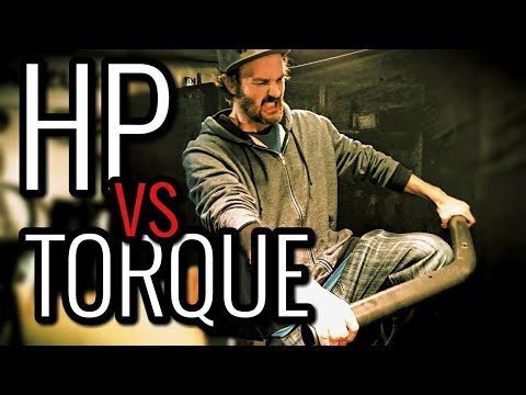 HORSEPOWER vs TORQUE - Which Makes You Go Faster?