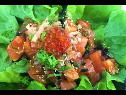 How To Make Salmon Poke - Carlito's Cooking Adventures