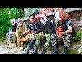 NERF WAR Special Police SWAT Warriors Nerf Guns Fight Bandits Mask Dangerous Weapons
