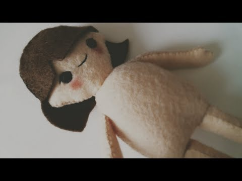 Doll Diaries, Chapter 1 : Making Hikari, A Felt Doll Tutorial