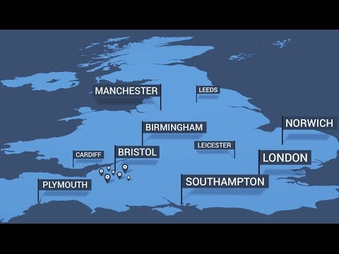 UK City Numbers - Get your local town or city area code phone number