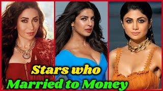 10 Bollywood Actresses Who Married for Money