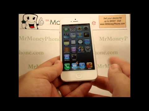 iPhone 5 - How to Activate Siri - How to Use Siri -  Apple iPhone 5 - Tutorial #14