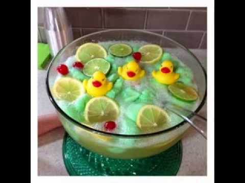 Creative Baby shower drink ideas