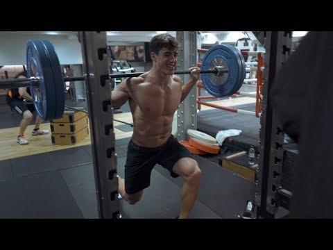 A week of workouts: Monday - Legs | Pietro Boselli