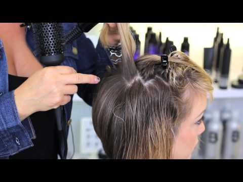 Blow Dry Technique: Short & Tousled