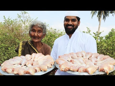 Chicken Drumstics curry || with coconut rice by 107 years old mastanamma || Nawabs kitchen