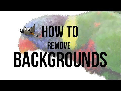 GIMP: How to remove Backgrounds