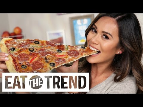 How to Make a Giant Pizza Slice | Eat the Trend